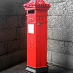 London - post box