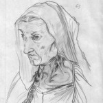 Portrait of the Dürer's Mother