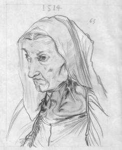 Portrait of the Dürer's Mother