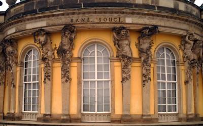 Detail of Sanssouci Palace