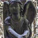 Angel at Sello graveyard