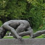 statue at Puschkinpark
