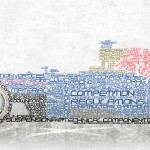 LetterRacingCar Typography Text-based Imagery