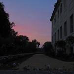 Sunset at Branitz Palace